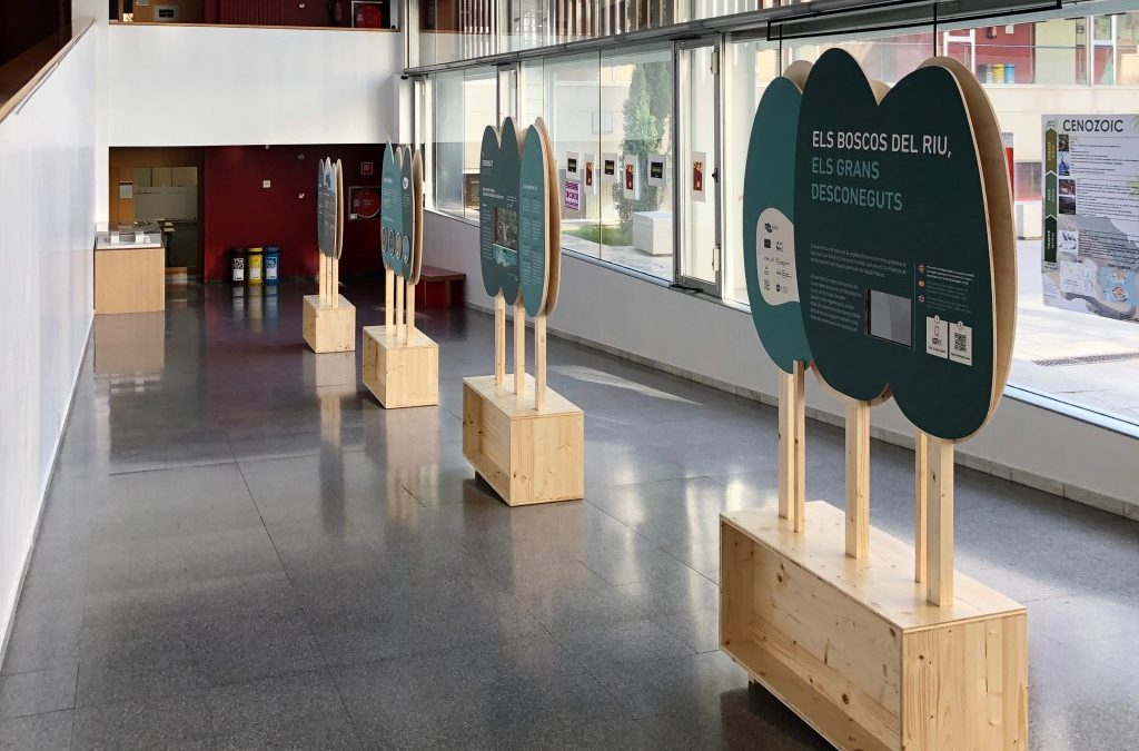 The LIFE Alnus project incorporates CHAtU technology in its touring exhibition