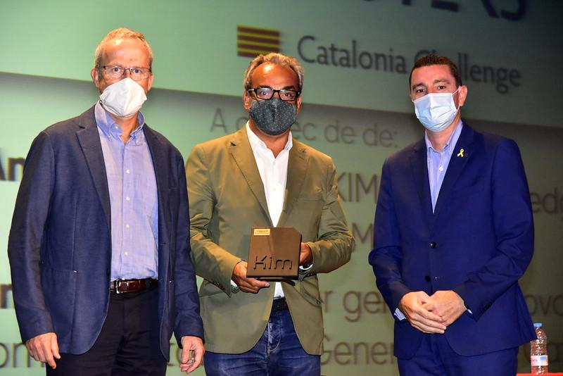 Witeklab, gagnant de la catégorie satellite Galileo dans le Galileo Masters Catalonia Challenge