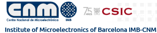 Institute of Microelectronics of Barcelona IMB-CNM