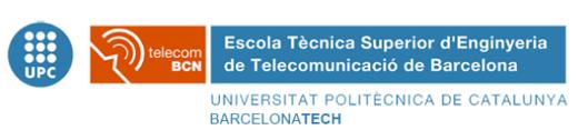 Universitat Politècnica de Catalunya BarcelonaTECH – Escola Tècnica Superior d'Enginyeria de Telecomunicació de Barcelona.